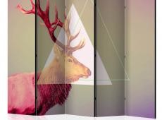 Paraván - deer (graphic pattern) II [Room Dividers]